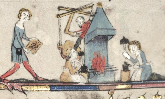 medieval-forge
