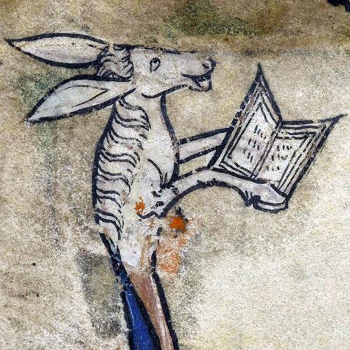Medieval-manuscript-donkey