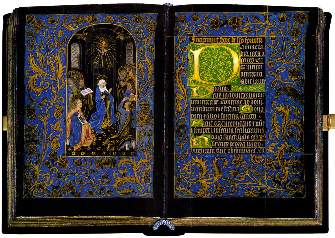 Descent of the Holy Spirit, The Black Hours, c. 1475